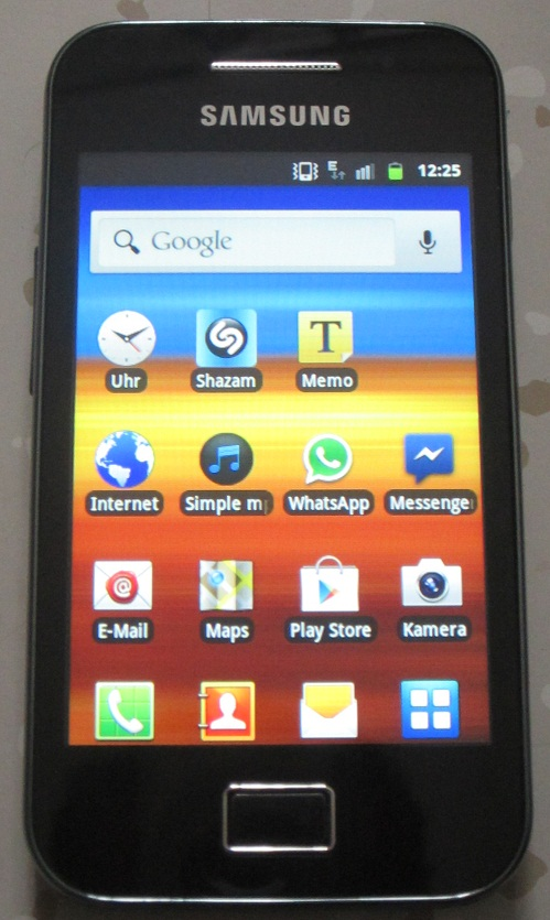 Testbericht: Samsung Galaxy Ace GT-S5830