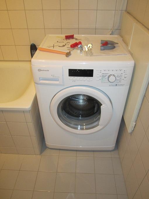 Unser Testbericht zur Bauknecht WA Sport 2012 Waschaschine
