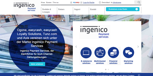 easy cash ingenico payment services