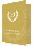 die besten Einladungskarten zur Goldhochzeit