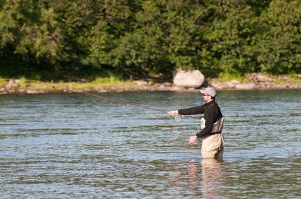 Bild 1: Angler im Einsatz