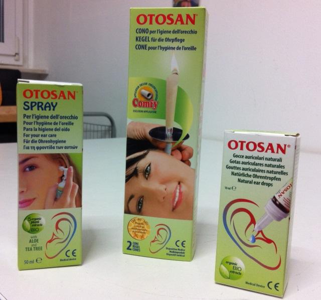 Otosan Pflegeprodukte für die Ohren